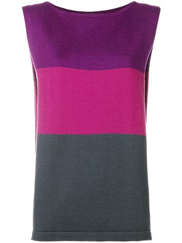 S colour block top - Yves Saint Laurent Pre-Owned - Modalova