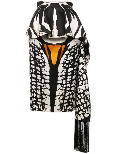 Animal print pencil skirt - Alexander McQueen - modalova