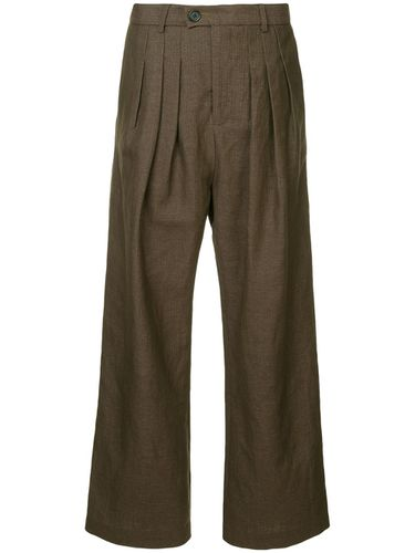 Baggy Pleat Pants - Strateas Carlucci - Modalova
