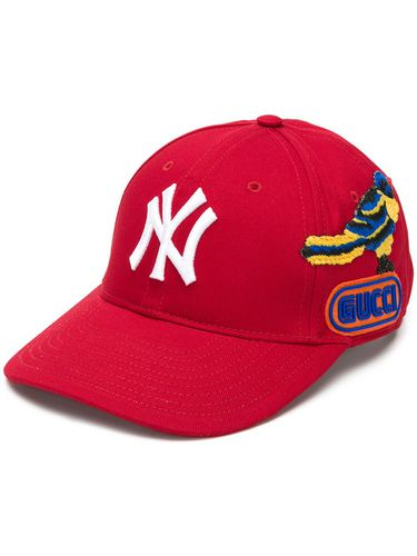 Gucci casquette NY Yankees - Rouge - Gucci - Shopsquare