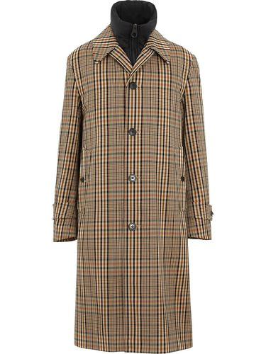 Manteau à carreaux - Burberry - Shopsquare