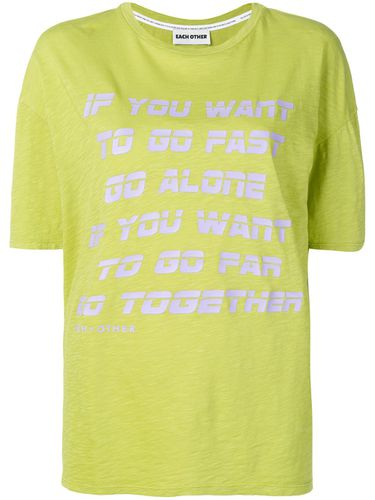 T-shirt Go Together - Each X Other - Shopsquare