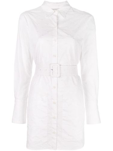 Belted shirt dress - Fleur Du Mal - Modalova