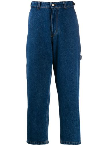 Pantalon droit worker - Ami Paris - Modalova
