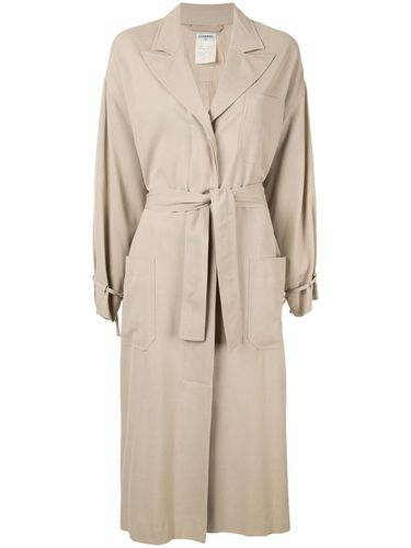 Manteau long ample - Chanel Pre-Owned - Modalova