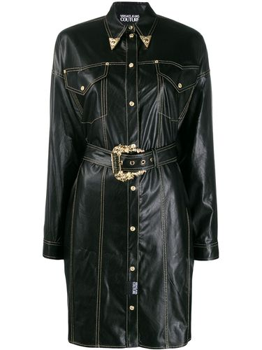 Robe-chemise d'inspiration western - Versace Jeans Couture - Modalova