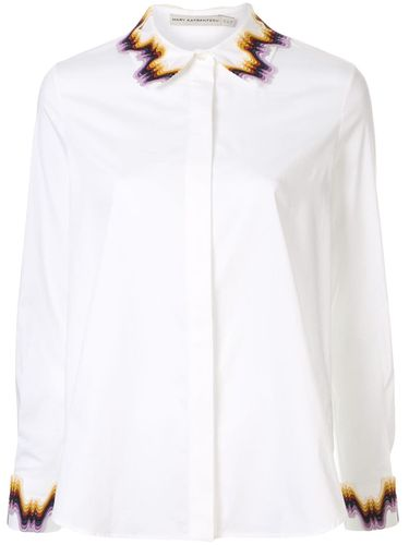 Embroidered fitted shirt - Mary Katrantzou - Shopsquare