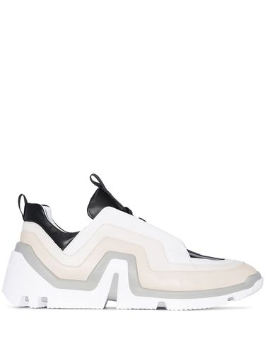 Vibe geometric-panelled sneakers - Pierre Hardy - Shopsquare