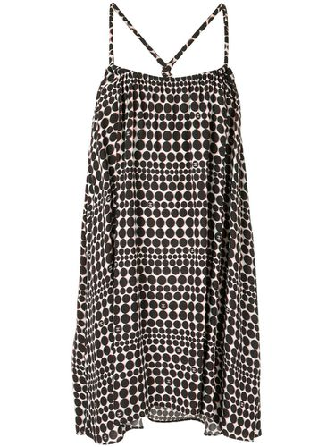 Robe courte à pois - Chanel Pre-Owned - Modalova