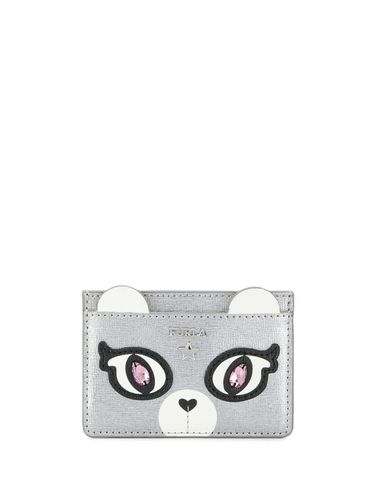 Bear face card holder - Furla - Shopsquare