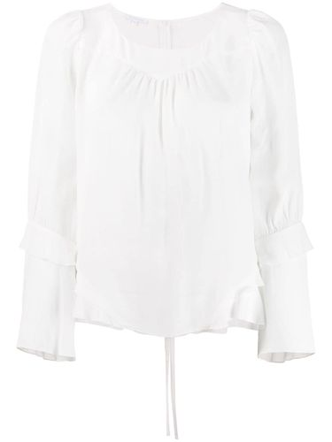 Blouse à bords volantés - Patrizia Pepe - Shopsquare