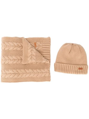 Lot écharpe-bonnet en maille - Barbour - Shopsquare