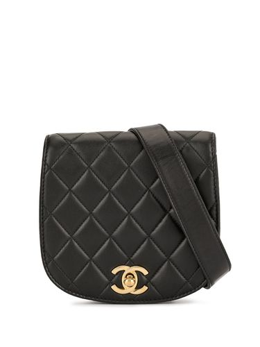 Sac banane matelassé à design arrondi - Chanel Pre-Owned - Modalova