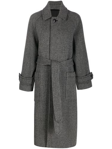 MANTEAU LONG CEINTURÉ - Ami Paris - Modalova