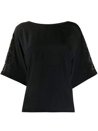 Blouse ample à broderies - Boutique Moschino - Modalova