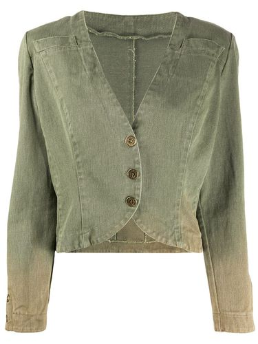 Veste crop d'inspiration militaire - Fendi Pre-Owned - Modalova