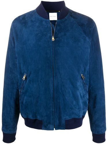 Veste bomber en daim - Paul Smith - Modalova
