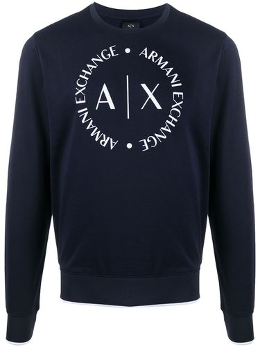 Sweat à logo imprimé - Armani Exchange - Modalova