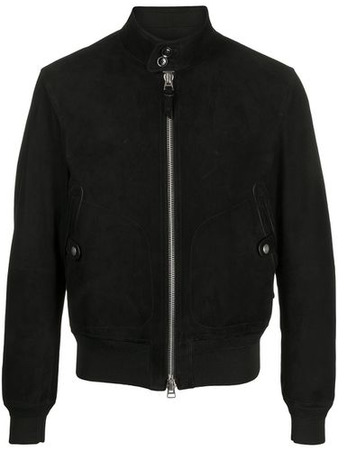 Band-collar bomber jacket - Tom Ford - Modalova