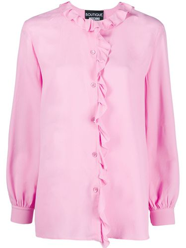 Blouse à bords volantés - Boutique Moschino - Modalova