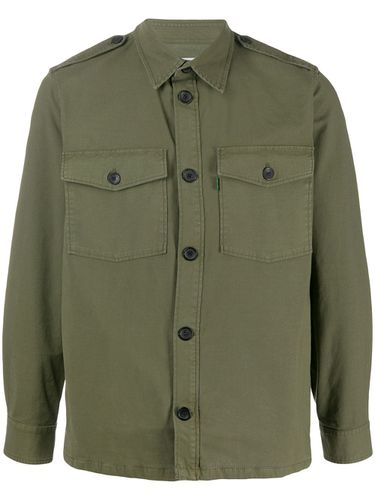 Cropped sleeve shirt jacket - Department 5 - Modalova
