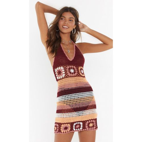 Robe courte en crochet On fait un crochet - NastyGal - Shopsquare