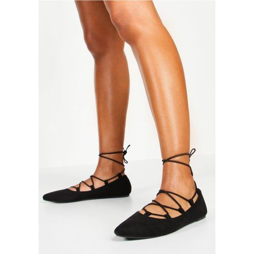 Ballerines Ghillies Pointues - - 39, - boohoo - Shopsquare