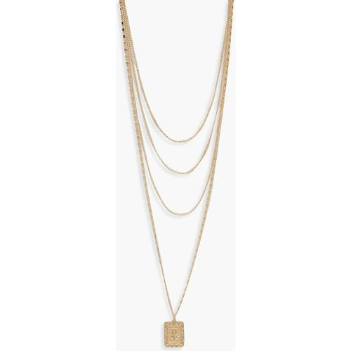 Choker Chain & Layered Necklace - - ONE SIZE, - boohoo - Shopsquare
