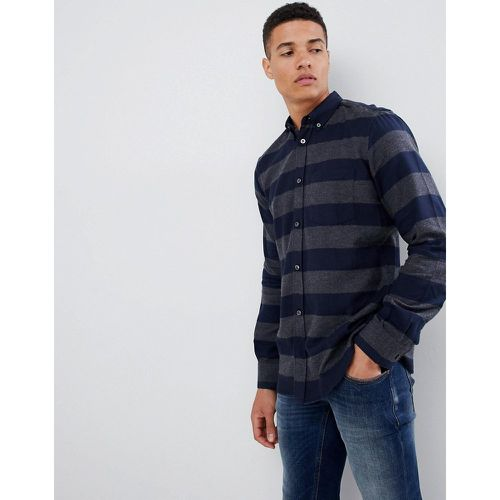 Chemise en flanelle à rayures - French Connection - Shopsquare