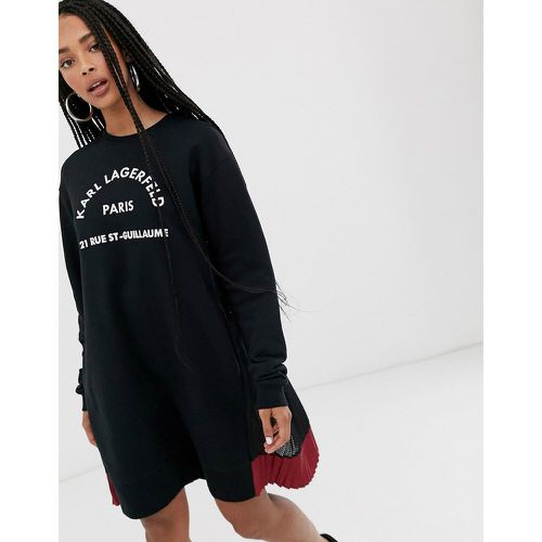 Rue st guillaume - Robe sweat - Karl Lagerfeld - Shopsquare