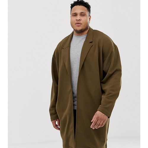 Plus - Manteau long oversize en jersey - ASOS DESIGN - Shopsquare