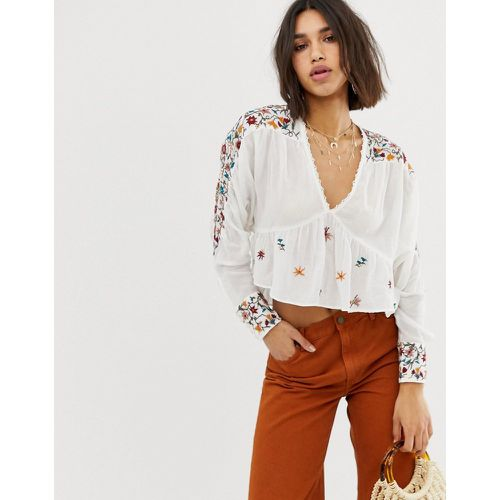 Free People - Blouse brodée - Free People - Shopsquare