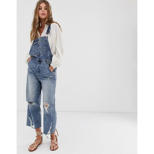 Salopette boyfriend style baggy - Free People - Shopsquare
