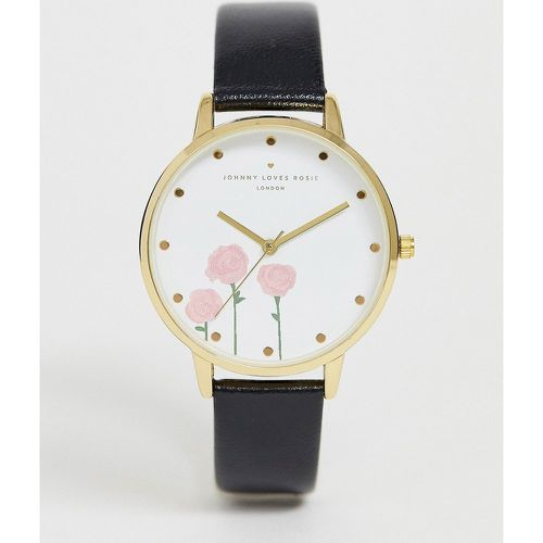 Montre femme ornée de roses - Johnny Loves Rosie - Shopsquare