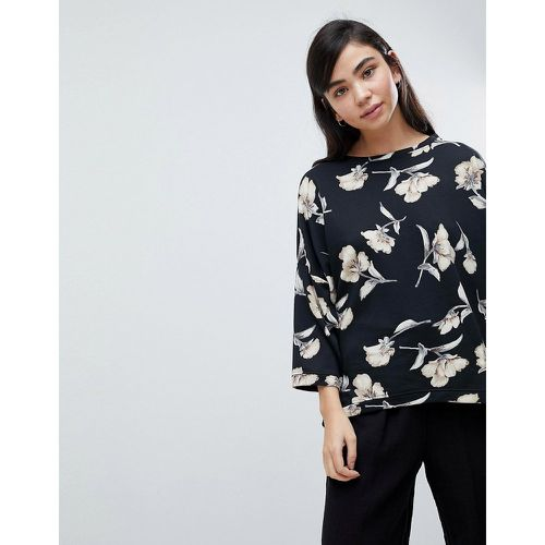 Sweat oversize à fleurs - Soaked in Luxury - Shopsquare