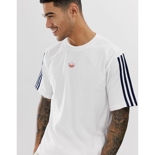 Floating - T-shirt à bandes - DV3260 - adidas Originals - Shopsquare