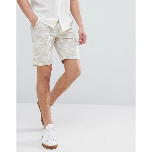 Short chino slim à imprimé hawaïen - Bellfield - Shopsquare