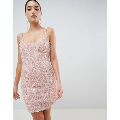 Robe moulante à franges - Missguided - Shopsquare