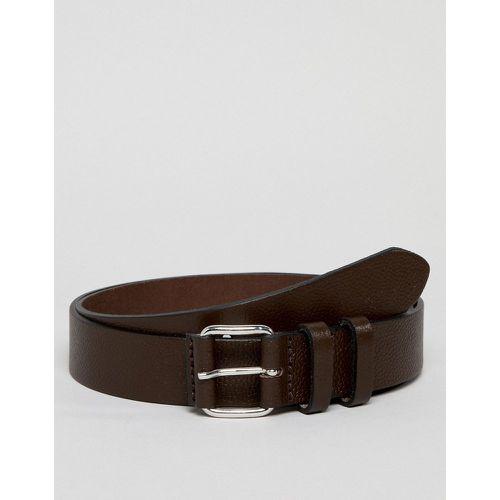Ceinture fine habillée en cuir grainé avec boucle ronde - - ASOS DESIGN -  Shopsquare 38fc83ff2d4