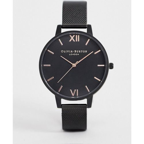 After dark - Montre à bracelet en tulle - Or rose et - Olivia Burton - Shopsquare
