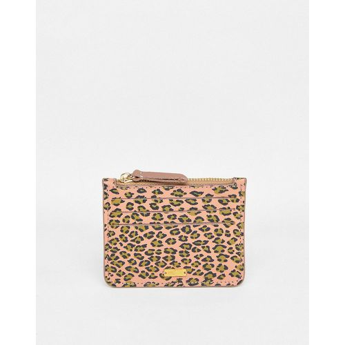 Porte-cartes en cuir à imprimé animal - Maison Scotch - Shopsquare