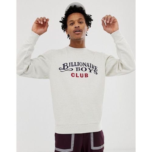 Sweat-shirt avec logo brodé en écriture cursive - Billionaire Boys Club - Shopsquare