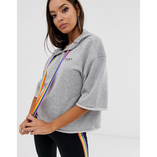 DKNY - Pride - Hoodie court - Gris - DKNY - Shopsquare