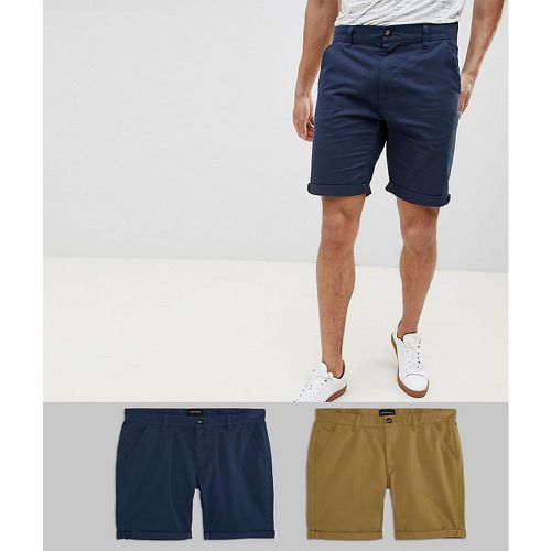 Lot de 2 shorts chino - D-Struct - Shopsquare