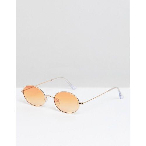 56d8af745b Lunettes ovales avec verres orange - - ASOS DESIGN - Shopsquare