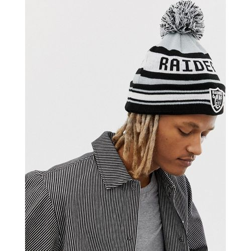 Raiders - Bonnet à pompon - new era - Shopsquare