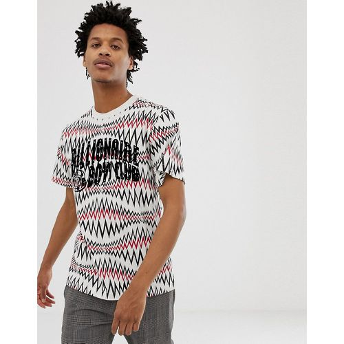 Soundwave Arch - T-shirt avec logo - chiné - Billionaire Boys Club - Shopsquare