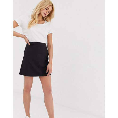 ASOS DESIGN Tall - Mini-jupe trapèze ajustée - ASOS Tall - Shopsquare