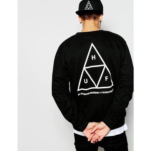 Sweat-shirt à motif triple triangle - HUF - Shopsquare