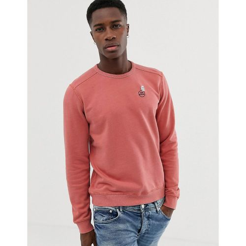 Sweat-shirt teint coupe classique - Scotch & Soda - Shopsquare